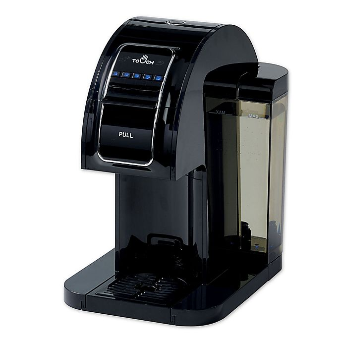 Alternate image 1 for Touch Essential™ Single Serve Coffee Brewer in Black