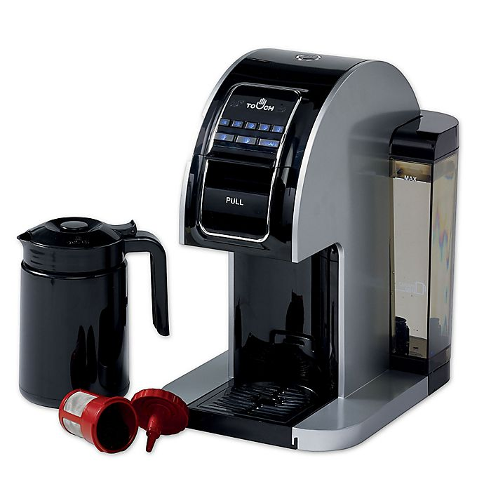 Touch Plus Single Serve Coffee Brewer In Silver Bed Bath Beyond