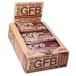 The GFB™ 12-Pack Chocolate Peanut Butter Gluten Free Bar