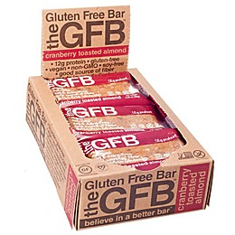 The GFB™ 12-Pack Cranberry Toasted Almond Gluten Free Bar