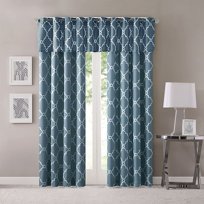 Madison Park Saratoga Window Collection Bed Bath Amp Beyond
