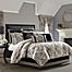 Part of the J. Queen New York Guiliana Comforter Set