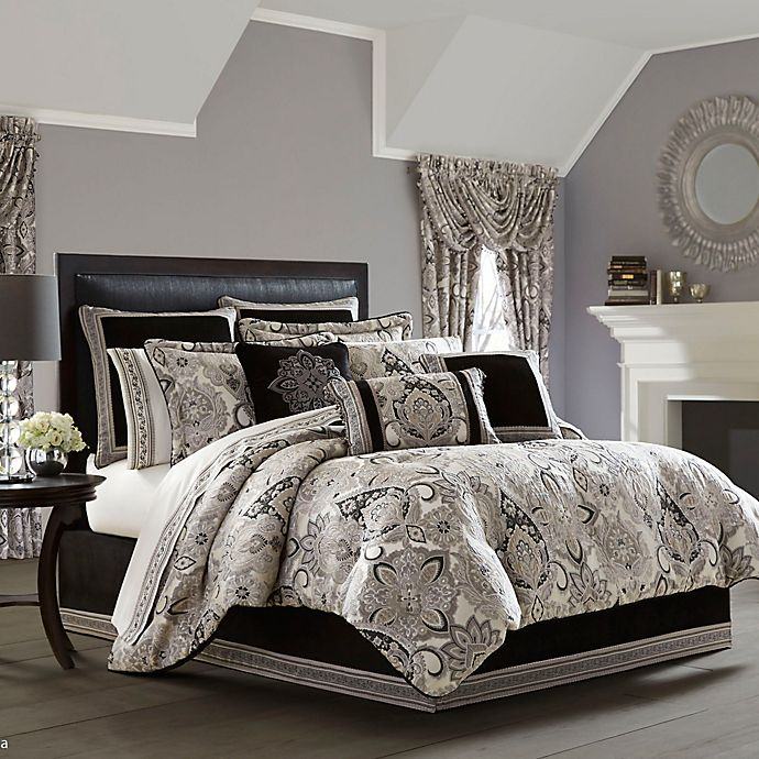 Alternate image 1 for J. Queen New York Guiliana 4-Piece Comforter Set