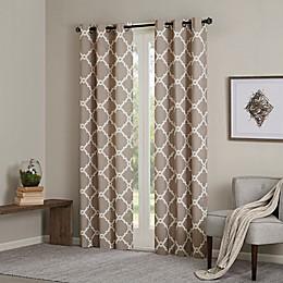 Madison Park Merritt 2-Pack Grommet Top Room Darkening Window Curtain Panels