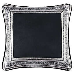 J. Queen New York Guiliana 18-Inch Square Throw Pillow in Silver