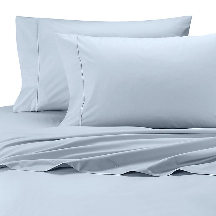 Alternate image 1 for SHEEX® Arctic Aire Twin Sheet Set in Light Blue