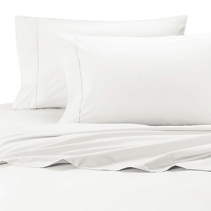 Alternate image 1 for SHEEX® Arctic Aire Twin Sheet Set in White