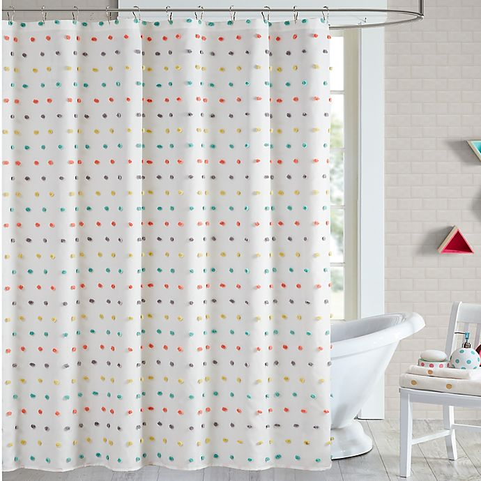 Shower Curtains At Bed Bath And Beyond chloe shower curtain | bed bath & beyond