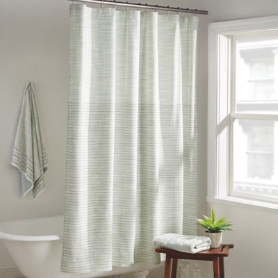 Dkny Yorkville Shower Curtain In Mist Bed Bath And