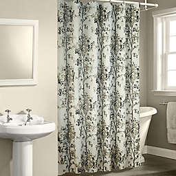 Dean Shower Curtain in White