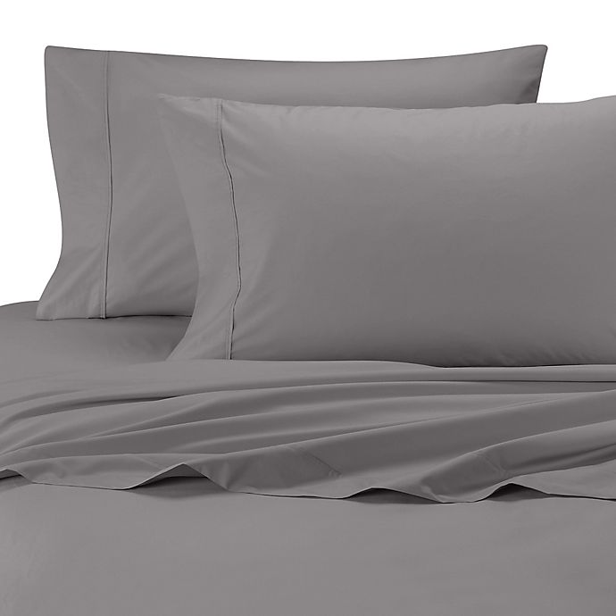 Alternate image 1 for SHEEX® drirelease® Twin Sheet Set in Charcoal
