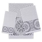 J. Queen New York™ Colette Fingertip Towel in Silver
