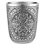 J. Queen New York™ Colette Wastebasket in Silver