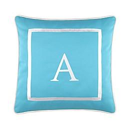 17-Inch Outdoor Pillow in Ocean