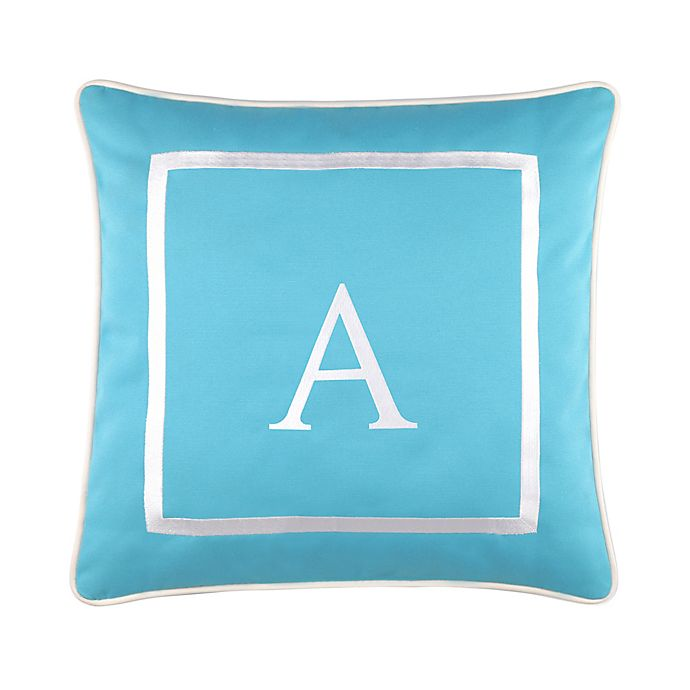 Alternate image 1 for 17-Inch Outdoor Pillow in Ocean