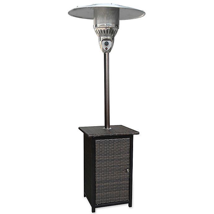 Alternate image 1 for Hanover Square Wicker Propane Patio Heater