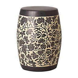 Emissary Amarante Ceramic Garden Stool