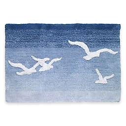 Avanti Seagulls 20-Inch x 30-Inch Bath Rug