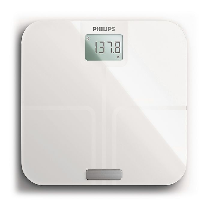 Alternate image 1 for Philips Body Analysis Connected Scale with Bluetooth® in White