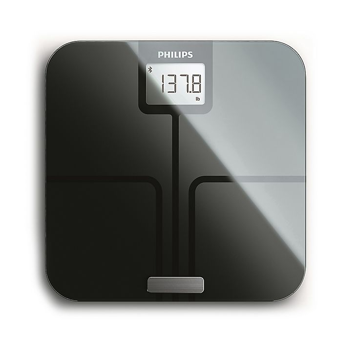 . Philips Body Analysis Connected Scale with Bluetooth    Bed Bath