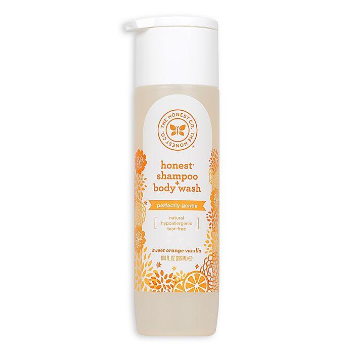 Alternate image 1 for Honest 10 fl. oz. Shampoo and Body Wash in Sweet Orange Vanilla