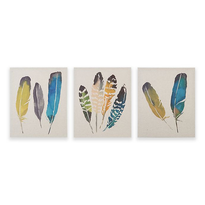 Alternate image 1 for Madison Park In The Wind 3-Piece Canvas Wall Art