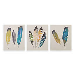 Madison Park In The Wind 3-Piece Canvas Wall Art