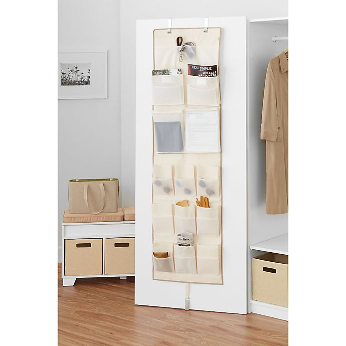 Alternate image 1 for Real Simple® Over Door Multi-Pocket Organizer