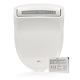 Bio Bidet Supreme Electric Bidet Seat with Wireless Remote Control Panel in White