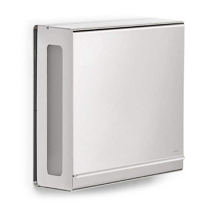 Alternate image 1 for Nexio Wall-Mounted Stainless Steel C-Fold Towel Dispenser in Polished Stainless Steel