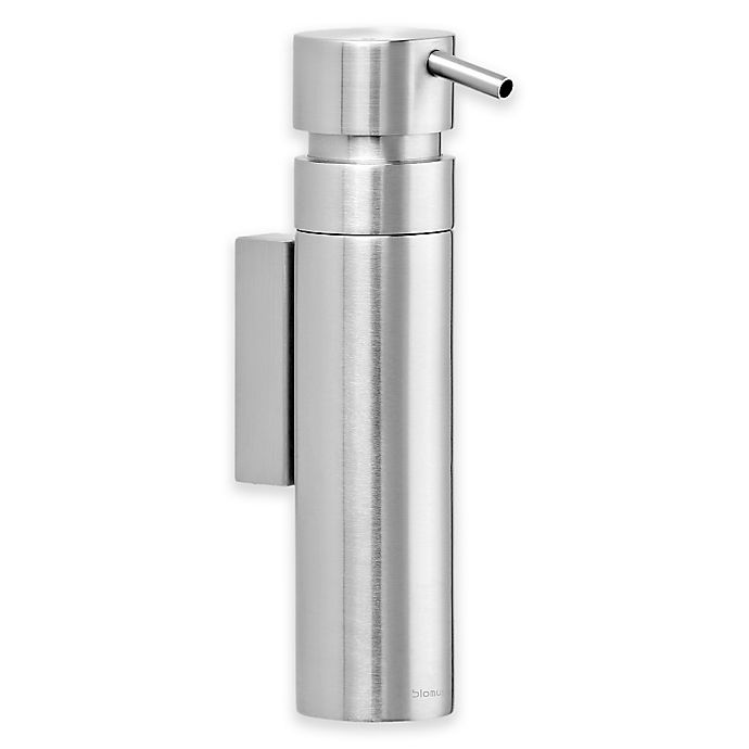 Alternate image 1 for Nexio Wall Mounted Stainless Steel Soap Dispenser in Silver