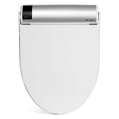 Bio Bidet Bliss Elongated Electric Bidet Seat with Wireless Remote  Control in White