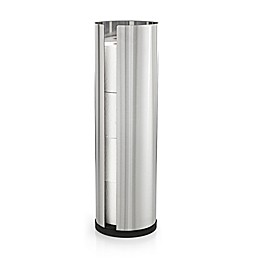 Nexio Stainless Steel 4-Roll Toilet Paper Holder in Silver
