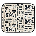 Schroeder & Tremayne The Original™ Dish Drying Mat with New Jersey Print in Cream/Black