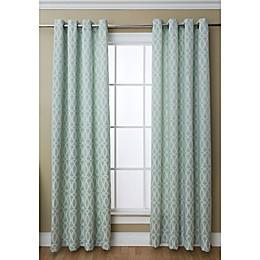 Caitlin 84-Inch Grommet Top Window Curtain Panel