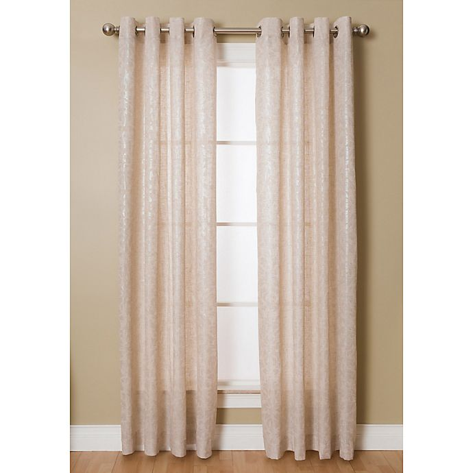 Alternate image 1 for Kailey Grommet Top Window Curtain Panel
