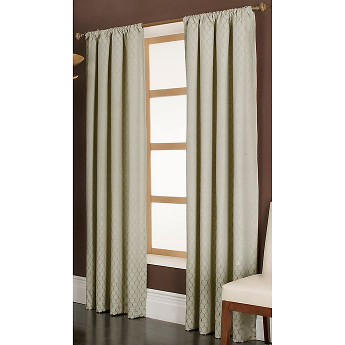 Alternate image 1 for Penwood 84-Inch Rod Pocket Window Curtain Panel in Ivory