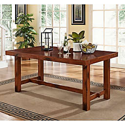 Forest Gate Athena Fmarhouse Wood Dining Table