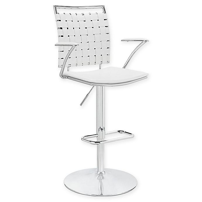 Modway Fuse Adjustable Bar Stool With Arms Bed Bath Amp Beyond
