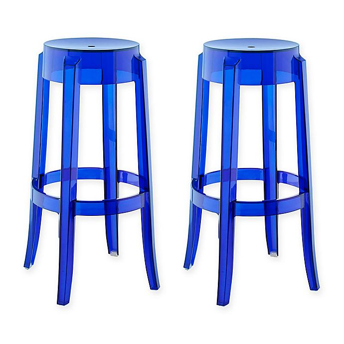 Buy Modway Casper Barstools In Clear Set Of 2 From Bed