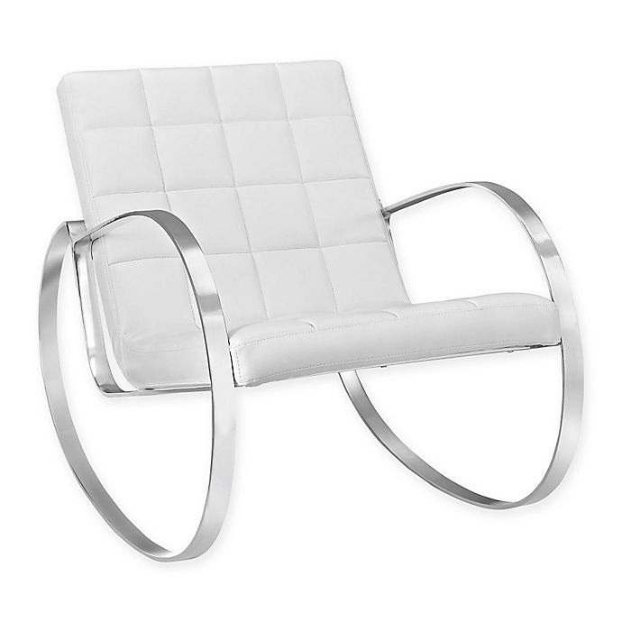 Alternate image 1 for Modway Gravitas Lounge Chair in White