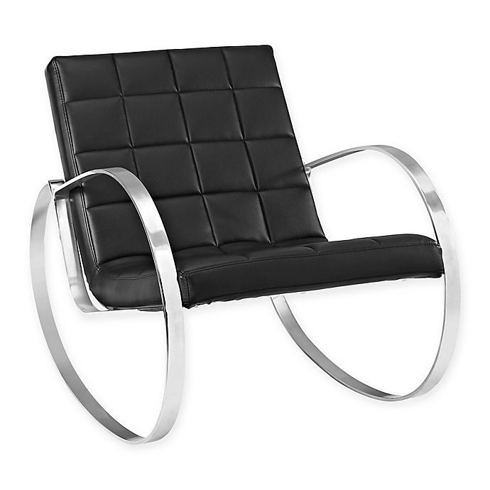 Alternate image 1 for Modway Gravitas Lounge Chair in Black