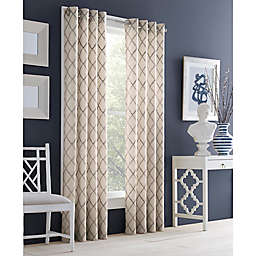 J. Queen New York™ Adorn Grommet Top Embroidered Window Curtain Panel