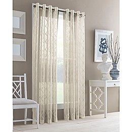 J. Queen New York™ Adorn Grommet Top Sheer Window Curtain Panel