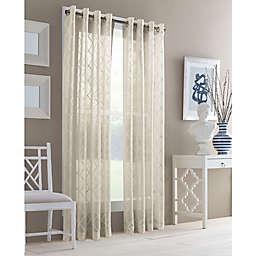 J. Queen New York™ Adorn Grommet Top Sheer Window Curtain Panel
