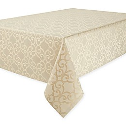 Waterford® Linens Sorelle Tablecloth in Beige