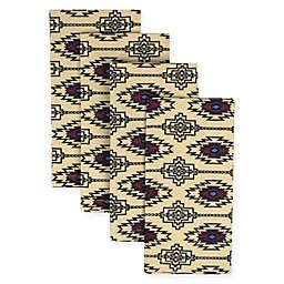 India Southwest Geometric-Print Napkins (Set of 4)