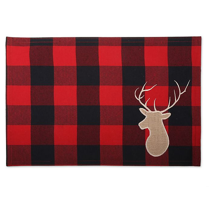 00bfe76e6 Buffalo Placemats in Plaid
