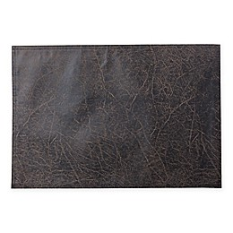 Keeco Distressed Faux Leather Placemat