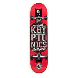 Kryptonics 31-Inch Popsicle Skateboard in Red
